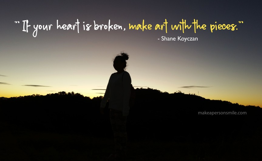 Finding Strength in Brokenness- Entry No.1