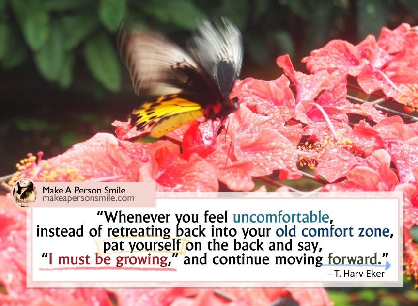 Leaving my comfortzone